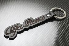 Alfa Romeo Leather Keyring Keychain Schlüsselring Porte-clés BRERA 169 156 GT 4C
