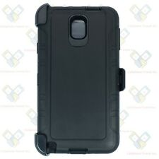 NEW For Samsung Galaxy Note 3 Case (Clip fits Otterbox Defender) W/Screen Black