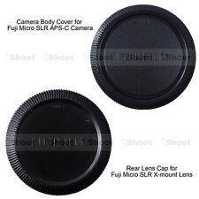 Body Cover f Fujifilm Camera Micro SLR APS-C X-E1 Rear Cap for Fuji X-mount Lens