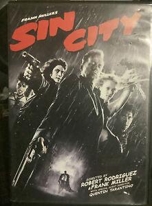 Sin City (DVD, 2005) Region 1 NTSC, USA Import Disc Like New