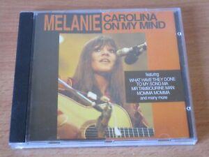 MELANIE - CAROLINA ON MY MIND CD