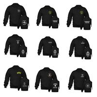 French Foreign Legion Unisex Black Special Forces Zipper Hoodies