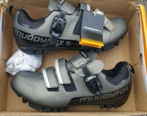 Mens Muddyfox MTB200 Cycling Shoes UK Size 10 new