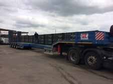 LOW LOADER TRAILER new on the market hydraulic self widening and extender