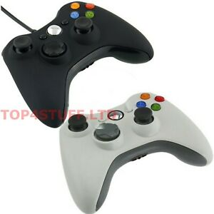 WIRED OR WIRELESS CONTROLLER FOR MICROSOFT XBOX 360, PC, USB, GAMING CONTROLLER