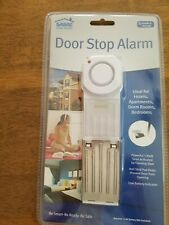 SABRE Wedge Door Stop Security Alarm with 120 dB Siren - Home + Travel + Dorm