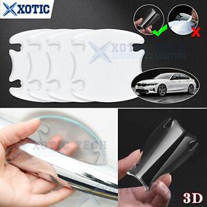 3D Invisible Car Door Handle Bowl Sticker Film For BMW E90 E92 F30 F31 F32 2000+