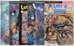 Lost in Space #1 - 10  Complete Run, Annual 1, Special 2 avg. NM 9.4  Innovation