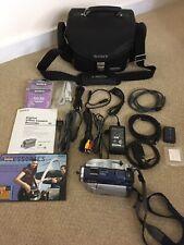 New ListingSony Handycam Digital Camera Recorder Dcr-Dvd300 Ntsc Camcorder w/accessories