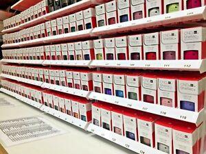 CND SHELLAC UV LED GEL POLISH .25 oz Pick from 218 COLORS TOP or BASE New NIB