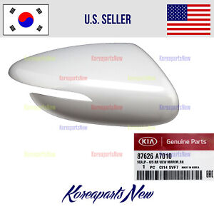 View Mirror Scalp Cover Cap Right PASSENGER ⭐OEM⭐ 87626A7010 Kia Forte 2014-2018