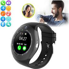 Bluetooth Smart Watch Sync Message Calls Wristwatch for Samsung J5 J6 J7 J8 Wiko