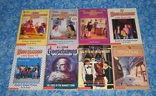 8 Apple Paperback Books with The Baby Sitters Club and Goosebumps Excellent USA
