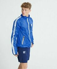 New listing Superdry Sport Men's Training Flyweight Jacket (SIZE S) Blue