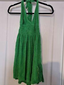 Beach Towel Halterneck Dress Size UK 10 (M)