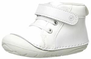 Stride Rite Baby-Boy's Soft Motion Frankie Athletic Sneaker White 4.5 W US To...