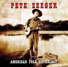 Pete Seeger AMERICAN FOLK ANTHOLOGY Ballads/Favorites/Industrial +BONUS New 3 CD