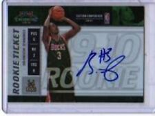 BRANDON JENNINGS 2009-10 PLAYOFF CONTENDERS #108 ROOKIE AUTO