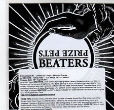 (CA62) Beaters / Prize Pets, split single - 2011 DJ CD