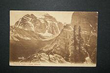 Paradise Valley, Pacific Railway, Laggan, Alberta, Valentines RP Postcard 1906