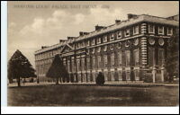 Vintage Postcard 1934 England Great Britain Hampton Court Palace East Front View