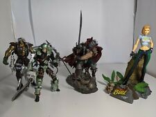 Mcfarlane Action figures lot Loose Spawn, Wetworks, Danger Girl Abbey Chase