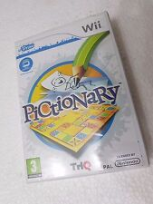 WII NINTENDO WII PAL PICTIONARY - RICHIEDE UDRAW TABLET NON INCLUSA -