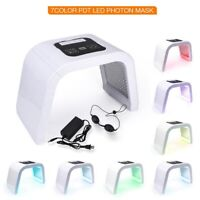7 Colors Photon LED Light Therapy Facial Body Beauty Machine Skin Rejuvenation