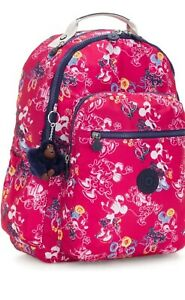 "Kipling Disney's Minnie and Mickey Mouse Seoul Go Large 15"" Backpack"