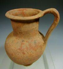 Fine Roman Pottery Oinochoe Brownware Pottery Jug Vessel ca. 100-300 AD