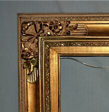 Ornate Gold Gilt Wood Picture Art Deco Frame