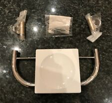 Wall Mounted White Chrome Soap Holder, by Lacev Poggibonsi