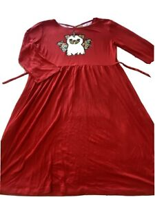 Girls Size 14 / 16 XL X-Large Justice Christmas Holiday Winter Fall Dress 🎄