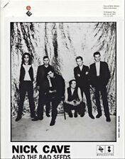 Nick Cave & Bad Seeds – Let Love 1993 Press Kit + Photo