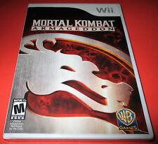 Mortal Kombat: Armageddon Nintendo Wii *Factory Sealed! *Free Shipping!