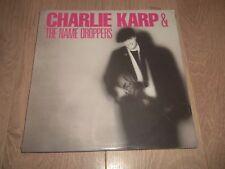 Charlie Karp & el nombre Goteros ~ Rock Blues Vinilo Lp Nuevo Y Sellado 1987