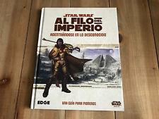 STAR WARS AL FILO DEL IMPERIO Adentrándose en lo Desconocido juego rol FFG EDGE