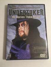 WWE UNDERTAKER He Buries Them Alive World Wrestling Entertainment DVD