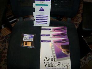 AVID VideoShop 3.0 for Macintosh on 3.5 1.44 Disks