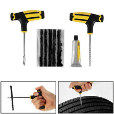 8 in 1 Car Tubeless Tyre Tire Puncture Repair Plug Kit Needle Patch Fix Tool