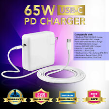 65w USB C AC Adapter Quick Wall Charger for HP Spectre 13 Elite X2 1012 Type-c