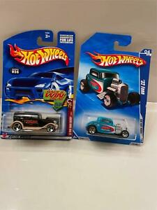 Hot Wheels Lot 2X 32 Ford Sedan Delivery 056/HW Hot Rods 10 #142 U4