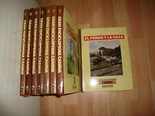 GRAN ENCICLOPEDIA CANINA CON 8 TOMOS POR EDITORIAL BRUGUERA DEL AÑO 1980