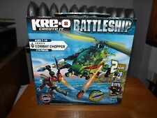 KRE-O, BATTLESHIP, COMBAT CHOPPER,  KIT # 38954, NEW IN BOX, 2012