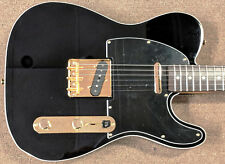 Fender Limited Edition Made in Japan Midnight Telecaster, Black, Gold Hardware