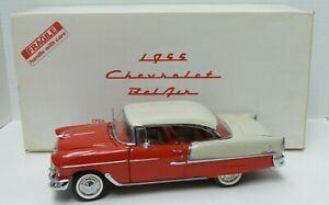 The Danbury Mint 1955 Chevrolet Bel Air 1:16 Die Cast Model Car  - A678