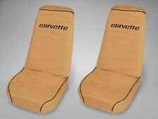 1968 Corvette C3 Tan Seat Savers Pair 602080