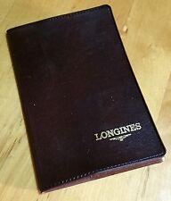 Longines Vintage Portafoglio carta titolare Certificato conquista MASTER evidenza AMMIRAGLIO