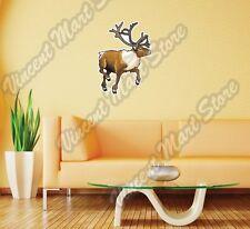 """Elk Deer Moose Racks Hunting Hunter Wall Sticker Room Interior Decor 25""""X20"""""""