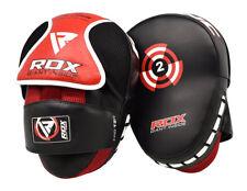 RDX Focus Pads Hook & Jab Mitts Punching Kick Boxing Gloves Thai Pad Curved